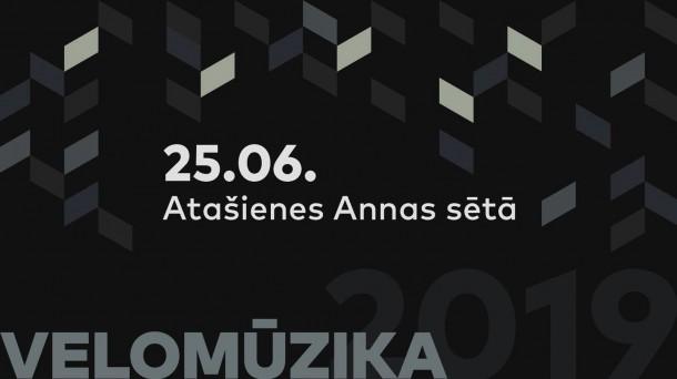 Velomūzikas koncerts Atašienē