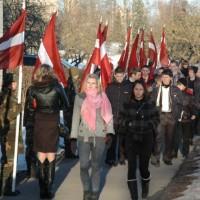 16. marts Krustpils novadā (foto: J. Lācis)