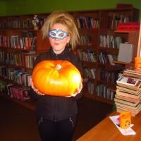 Helovīnu pēcpusdiena Krustpils pagasta bibliotēkā