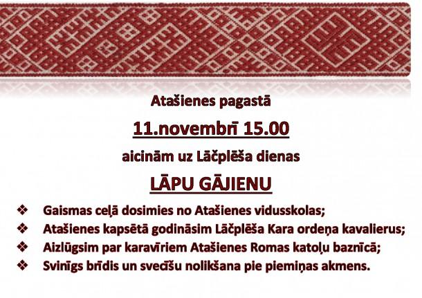 11. novembra pasākums Atašienē