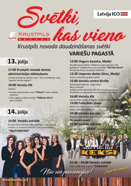 Krustpils novada svētki
