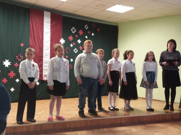 ''Latvijai- 99''- Mežāres pamatskolā