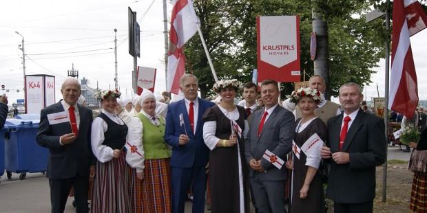 Krustpils novads XXVI Vispārējos latviešu Dziesmu un XVI Deju svētkos