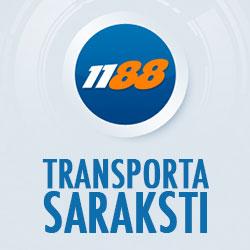 1188.lv transporta saraksti