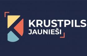 Krustpils novada jaunatnes logo