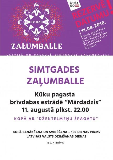 Latvijas simtgades zaļumballe
