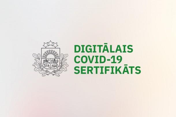 Uzsākta digitālo Covid-19 sertifikātu iegūšana