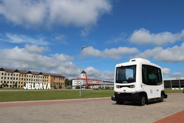 Zemgalē šogad kursēs bezpilota autobuss