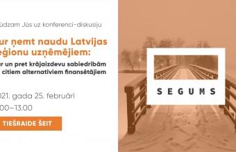 Kur ņemt naudu Latvijas reģionu uzņēmējiem?
