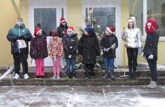 Ziemassvētku pasākums Mežāres pamatskolā