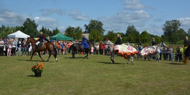 Svētki kopā ar zirgiem Krustpils pagastā